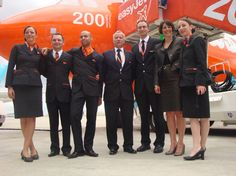 easyJet Trolley Dolly, Easy Jet, Airline Uniforms, Cargo Airlines, Cabin Crew, Flight Attendant, Britain, Aviation, How To Memorize Things