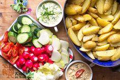 Kuchařka ze Svatojánu Cobb Salad, Potatoes, Chicken, Meat, Food, Potato, Essen, Meals, Yemek