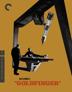 Goldfinger, Fake Criterion Collection Blu-ray, by Alistair Rhythm, via Flickr