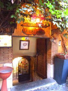 best places to eat in Trastevere (Rome) neighborhood