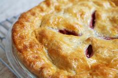 Perfect Pie Crust ~ Several pie crust recipes—an all butter pie crust, or pate brisee, an all butter crust with almonds, combining butter and shortening crust, and how to pre-bake or blind-bake a pie crust. ~ SimplyRecipes.com