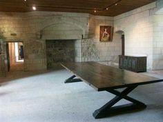 (Indre-et-Loire) Château de Chinon, XIe, XVe siecle Chateau De Chinon, Château Fort, Centre, Dining Table, France, Studio, Furniture, Home Decor, 15th Century