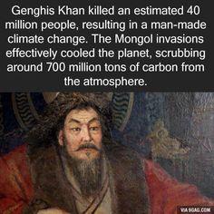 Good guy Genghis
