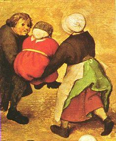 Kinderspelen (schilderij plus zestien details)