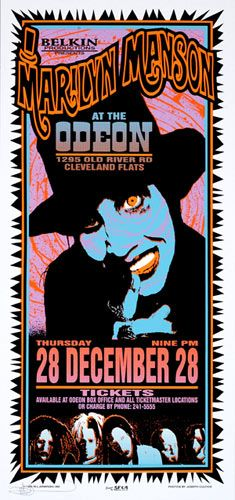 Marilyn Manson     Odeon   12/28/1995   Artist: Mark Arminski