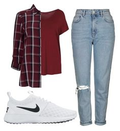 """""""Untitled #52"""" by exc4libur on Polyvore featuring Topshop, Miss Selfridge and NIKE"""