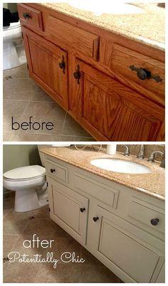 1000+ Ideas About Bathroom Vanity Makeover On Pinterest | Bathroom .