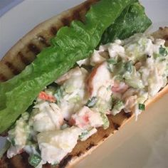 This lobster roll is a wonderful summer (or winter) treat and makes a fancy luncheon to impress your friends.