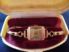 Vintage ladies wrist watch~ Sophen ~ late 1950's - early '60's~ Ancre 15 Jewels Square Watch, Wristwatches, Vintage Ladies, 1950s, Jewelry Making, Jewels, Lady, Anchor, Watches