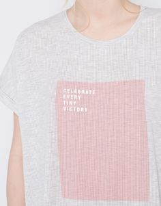 RIBBED PRINT T-SHIRT - NEW PRODUCTS - NEW PRODUCTS - PULL&BEAR Germany