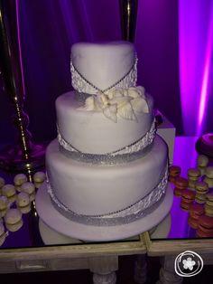 Gorgeous custom cake at Moon Palace!
