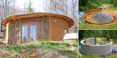 An Earthbag Round House that Costs Less Than $5,000