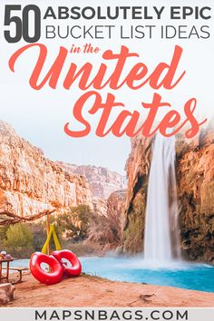 Ultimate USA Travel Bucket List: 50 Epic Places to Visit in USA Ultimate USA Bucket list! Looking for the best places to visit in America? This list has only the best destinations in the US with lots Us Travel Destinations, Bucket List Destinations, Amazing Destinations, Travel Bucket Lists, The Bucket List, Grand Canyon, Cheap Places To Travel, Cool Places To Visit, Best Places In Usa