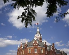 City Hall  Stratford, Ontario Stratford Ontario, Writers, Photo And Video, Mansions, House Styles, City, Places, Travel, Viajes