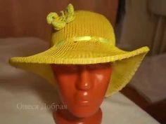 Видеоурок: вяжем шляпку на однофонтурной машинке Silver Reed LK-150 - Ярмарка Мастеров - ручная работа, handmade