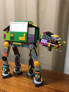 Lego Robot, Lego Moc, Lego Lego, Legos, Lego People, Lego System, Weekend Crafts, Cool Lego Creations, Lego Storage