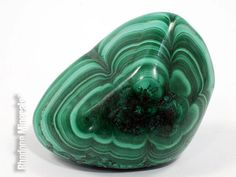 Malachite Tumbled Stone Malachite Crystal by RhodopeMinerals