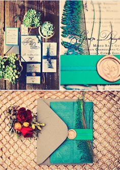 Jewel tones? (styleunveiled.com / tamiz photography)
