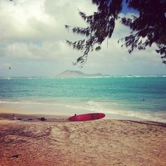 Lanikai Beach in Hawaii. I CAN'T WAIT til our trip here, munch is going to love it! :)