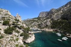 Calanque Morgiou, South of France close to Marseille  Find Super Cheap International Flights to Marseile, France ✈✈✈ https://thedecisionmoment.com/cheap-flights-to-europe-france-marseille/