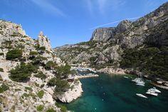 Calanque Morgiou, South of France close to Marseille
