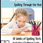 This unit includes 30 weeks of spelling tests appropriate for First Grade students.  Each week, there are 10 words that follow a spelling pattern ...