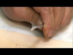 Carving a Leathercraft Leaf - Part 3