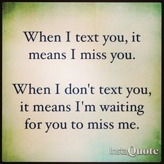 I miss you. #quotes