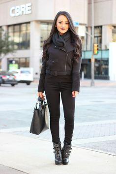 Maytedoll: When in doubt, wear all black