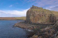 Duntulm Castle on the Isle of Skye, Scotland