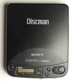 I thought I was cool with my Discman in tow!