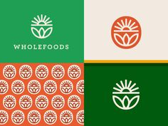 Brand proposal for an organic food store. by Martin