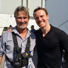 "112 Likes, 3 Comments - Richard Norton (@rjnorton64) on Instagram: ""The incredible Michael Fastbender of X Men and so many fabulous movies. #xmen #richardnorton #"""