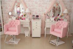 moveis para salao de beleza rosa 6