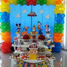 Cumpleaños Mickey y sus amigos