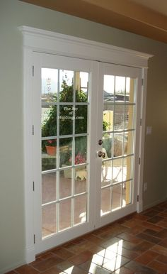 Image result for ideas for beautiful 3 inch molding around sliding doors