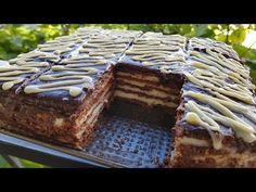 Dolce Veloce Per 10 Minuti Senza Cottura Ricetta Facile e Veloce - YouTube Greek Desserts, Greek Recipes, Cacao Recipes, Torte Cake, Greek Dishes, Bread And Pastries, Flan, No Bake Cake, Biscotti