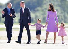 Duchess Catherine & Prince William Visit Germany