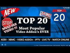 KODI TOP 20 BEST Video Addons XBMC July 2015 - YouTube