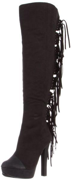 Michael Antonio Women's Hemet Knee-High Black Boot
