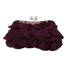 This cute purple clutch bag has a secure fastening and can be hand held, or worn over the shoulder, from the UK Purple Clutch Bags, Embellished Clutch Bags, Soft Summer, Handmade Bags, Evening Bags, Designing Women, No Frills, Clutches, Paisley