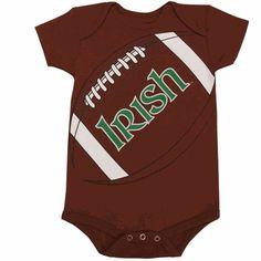 ddcd51dbd39 Notre Dame Football Baby Creeper