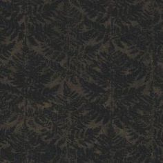 The Wallpaper Company 56 sq.ft. Black Modern Fern Repeat Creating a Textured Background Wallpaper-WC1283115 at The Home Depot
