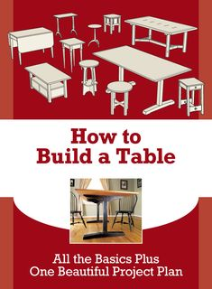 This is a 14-page downloadable PDF you get as a download if you sign up for the Popular Woodworking newsletter. It contains a lot of handy info if you're new to tablemaking.