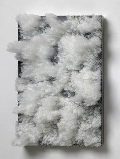 Straw Art Sculptures by Francesca Pasquali Straw Sculpture, Wood Sculpture, 3d Design, Modern Art, Contemporary Art, Straw Art, Instalation Art, Plastic Art, Italian Artist