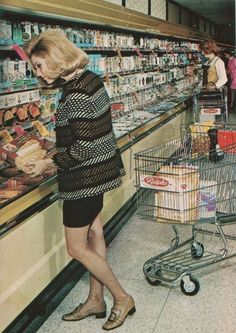 Ralphs supermarket, SoCal. Circa 1969 photo from Progressive Grocer