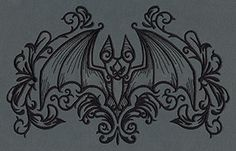 Gothic Gala - Bat | Urban Threads: Unique and Awesome Embroidery Designs