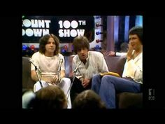 Countdown (Australia)- Molly Meldrum, JPY, Daryl Braithwaite and Leo Sayer Introduce AC/DC- April 1977