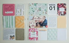 My Project Life in 2014 - Nina Christenson