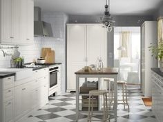 Ikea kitchen planner usa country kitchen planner home visit how much are tool pantry kitchen planner como usar ikea kitchen planner Off White Kitchens, White Marble Kitchen, White Kitchen Backsplash, Kitchen Countertops, Kitchen Cabinets, Layout Design, Ikea Pantry, Kitchen Planner, Living Styles